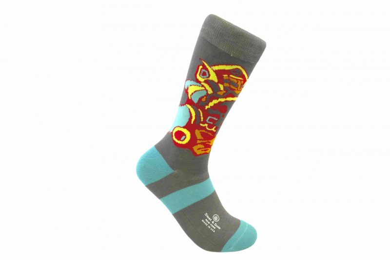 Aztec Warrior mexican socks Bamboo socks made in the usa at sleet and sole