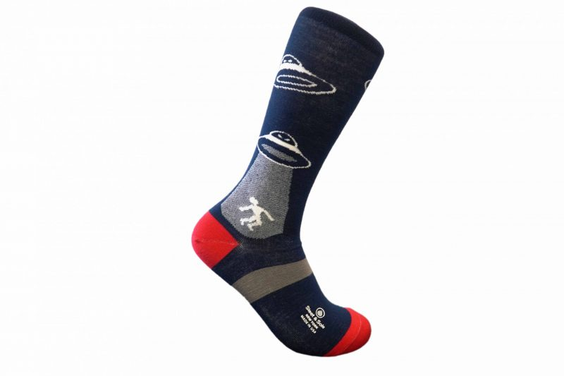 abduction bamboo socks made in the usa at sleet and sole