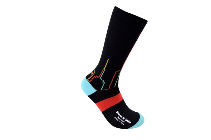 Skyline american Bamboo socks made in the usa at sleet and sole factory
