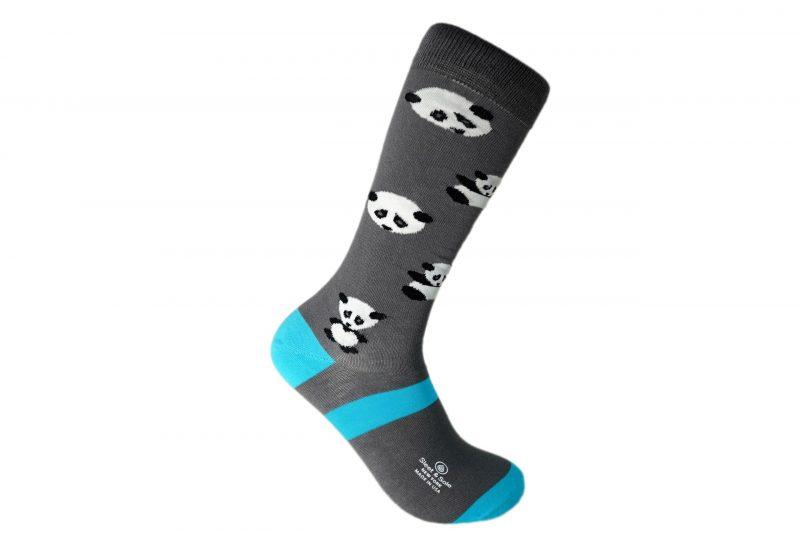 panda bamboo socks made in the usa at sleet and sole