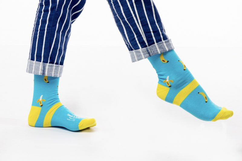 banana bamboo socks made in the usa sleet and sole