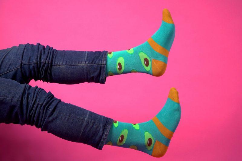 green avocado bamboo socks made in the usa sleet and sole