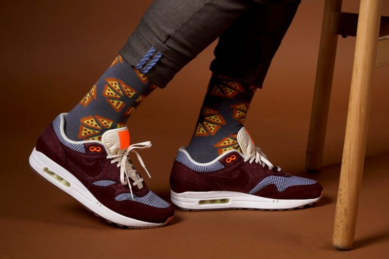 pizza bamboo socks made in the usa sleet and sole