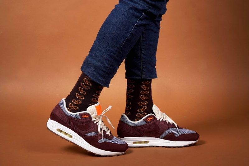 pretzel bamboo socks made in the usa at sleet and sole factory