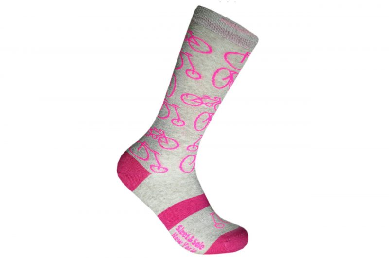 bicycle recycled socks made in the usa from recycled plastic bottles at sleet and sole