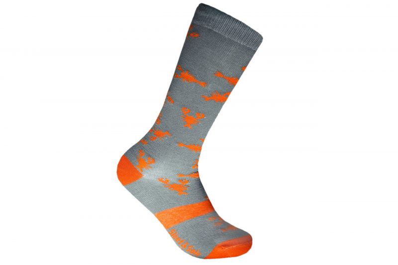 repreve lobster recycled socks made in the usa at sleet and sole