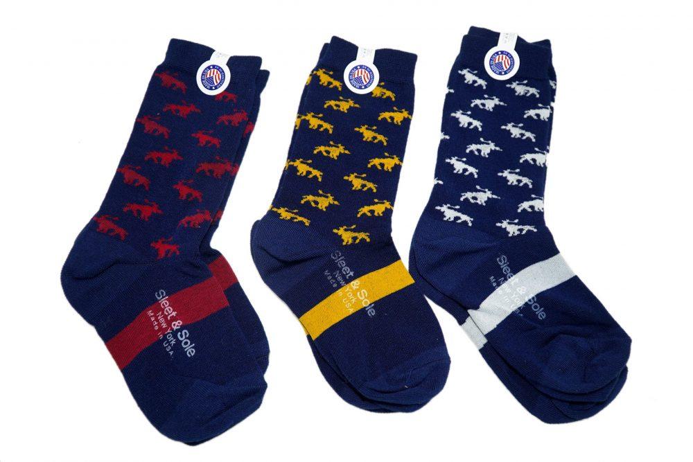 Moose Kids Bamboo Socks sleet and sole