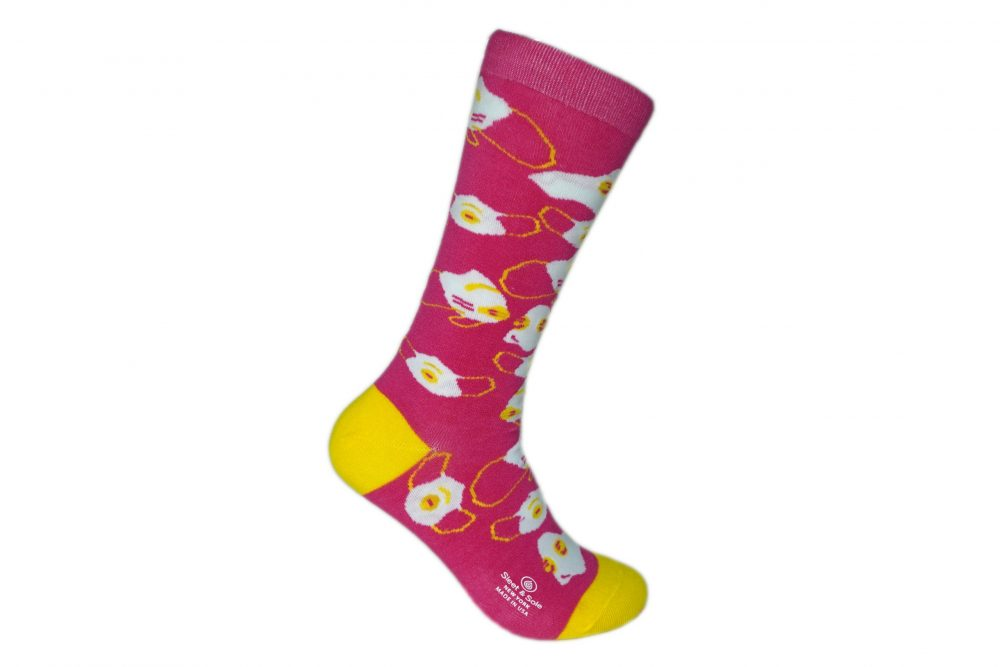 Pink N95 Face Mask covid socks sleet and sole