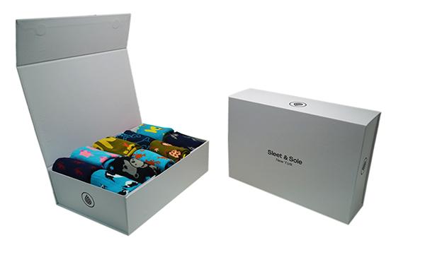white gift box pack