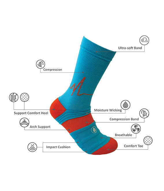 adventages sport socks description
