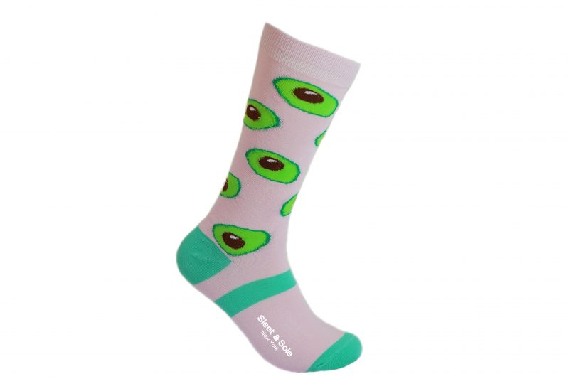 Avocado bamboo Socks made in the usa at Sleet and Sole