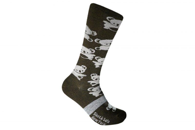 Koala Recycled Wool Socks Sleet and Sole
