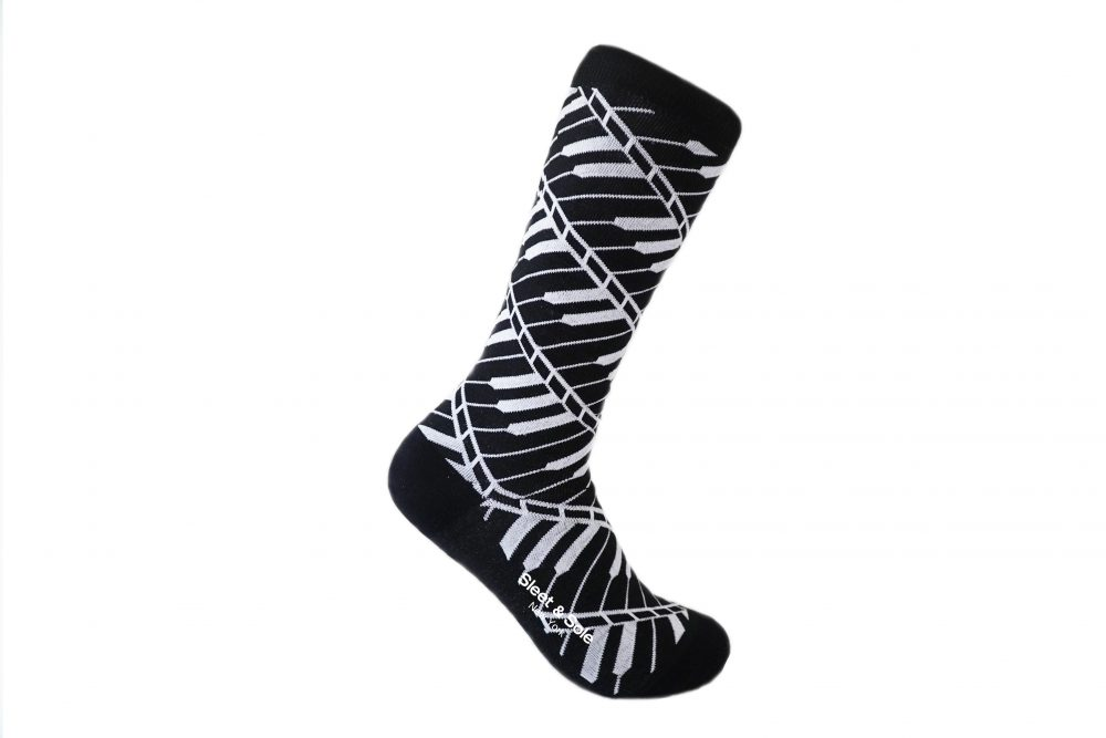 Piano Recycled Socks musician socks Sleet and Sole