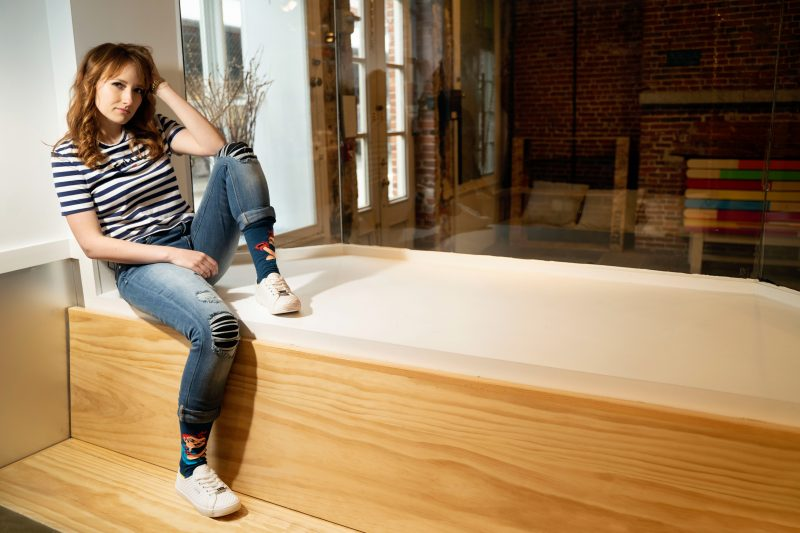 REPREVE Rosie the Riveter Socks | Sleet and Sole
