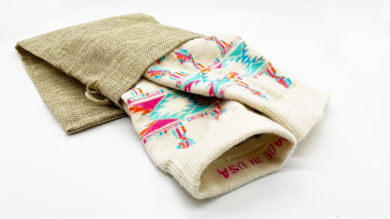 artisanal recycled wool socks made in usa sleet and sole
