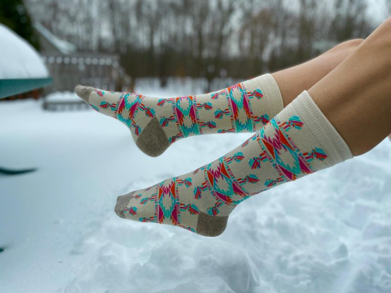artisanal 100% merino wool, recycled wool socks made in usa at sleet and sole