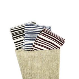 stripes merino wool socks made in the usa at sleet and sole factory