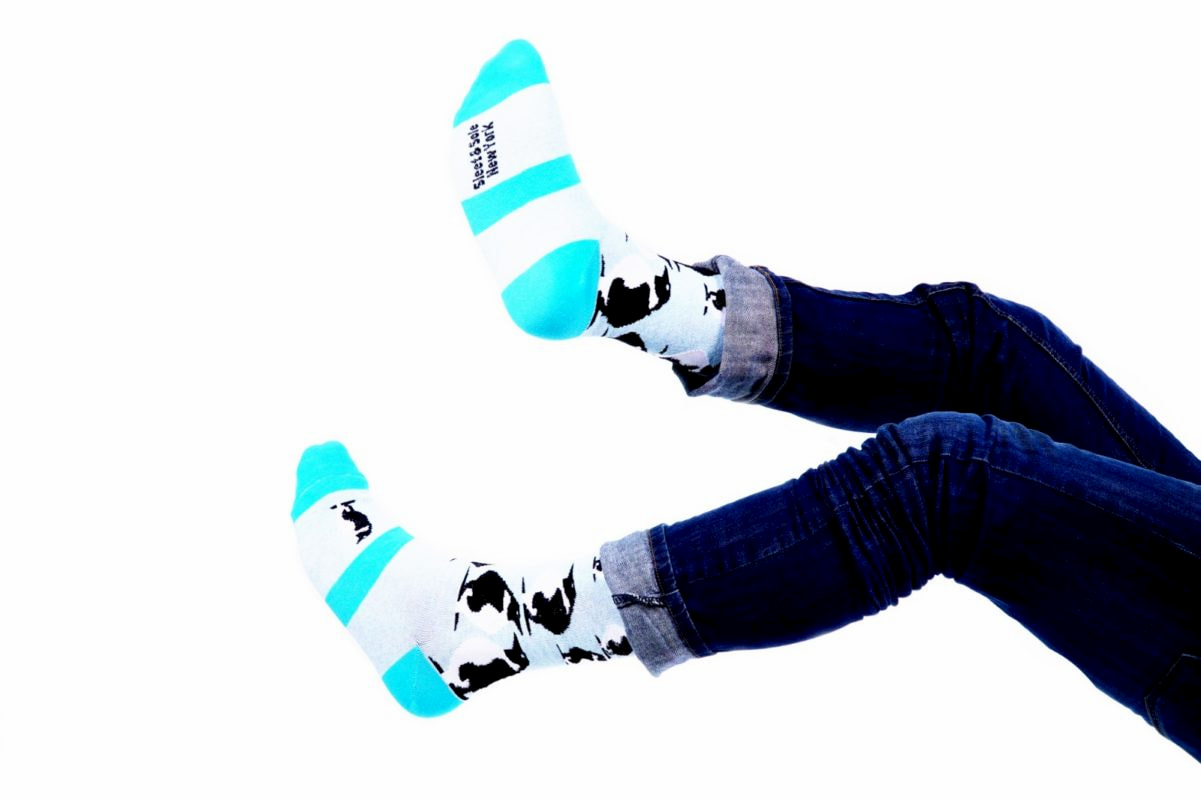 penguin recycled socks made in usa at sleet and sole