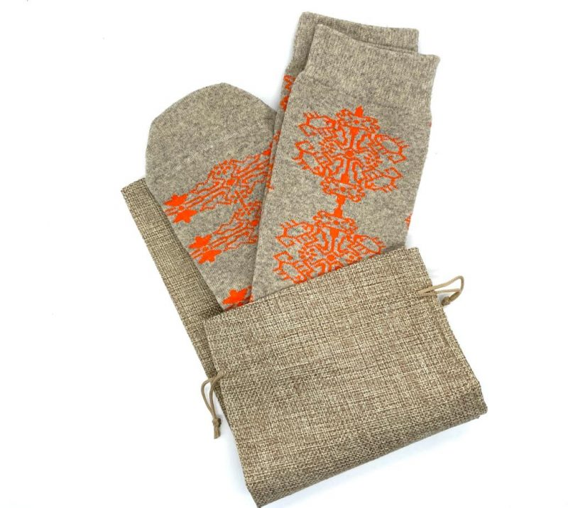 native design recycled wool socks made in the usa at sleet and sole