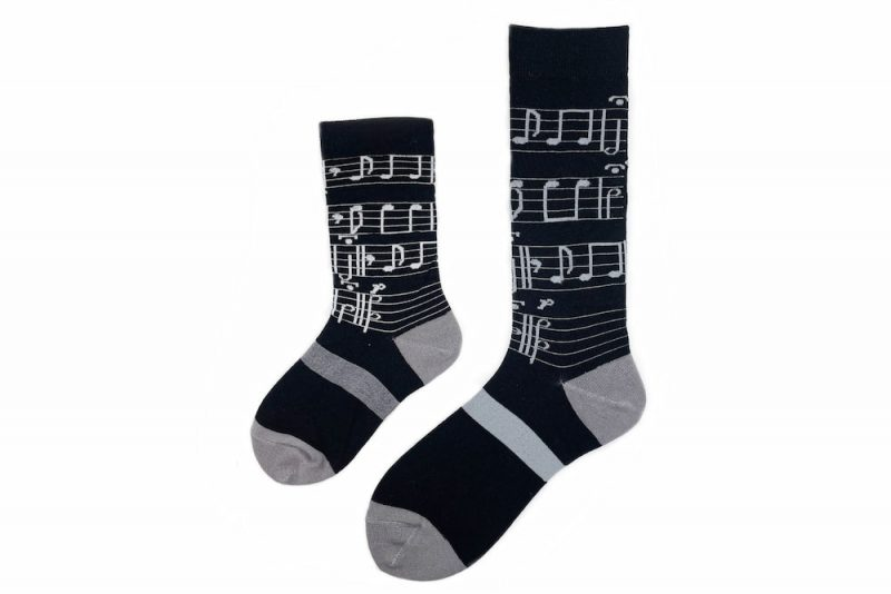 Daddy & Me Music Matching Sock Set made in the usa at sleet and sole factory