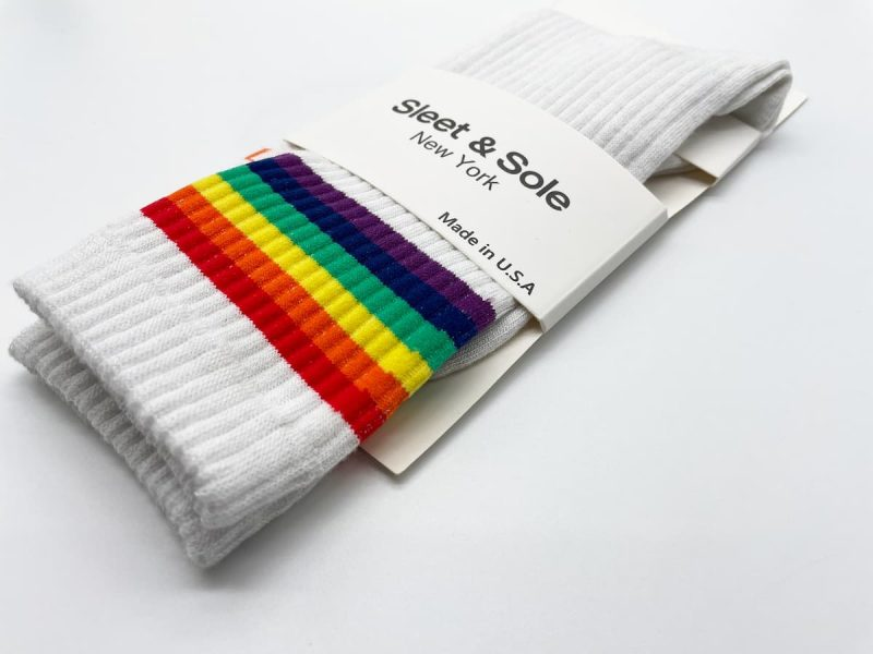 ribbed crew socks made in the usa at sleet and sole
